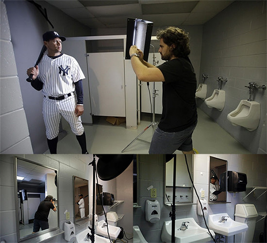 nick-laham-yankees-bathroom-iphone-shoot