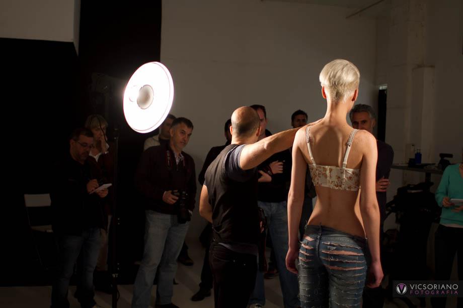 taller fotografia moda con Fran Barrero
