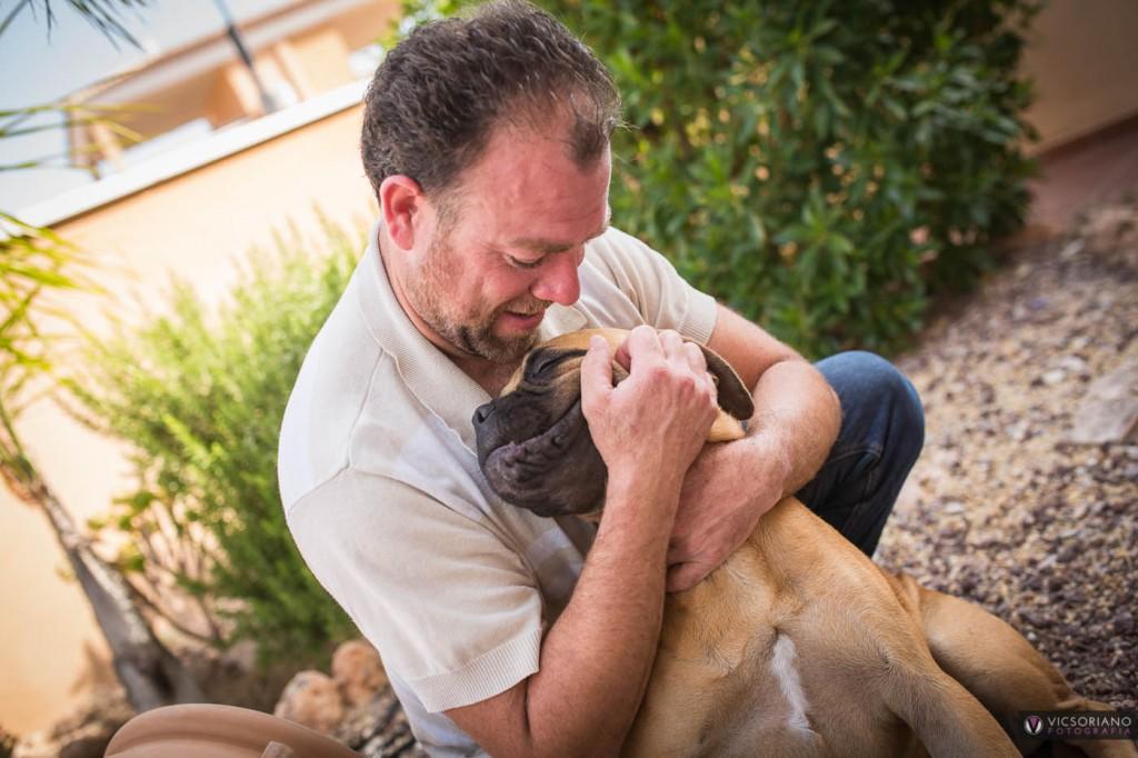 daniel y sus perros . vicsoriano fotografia