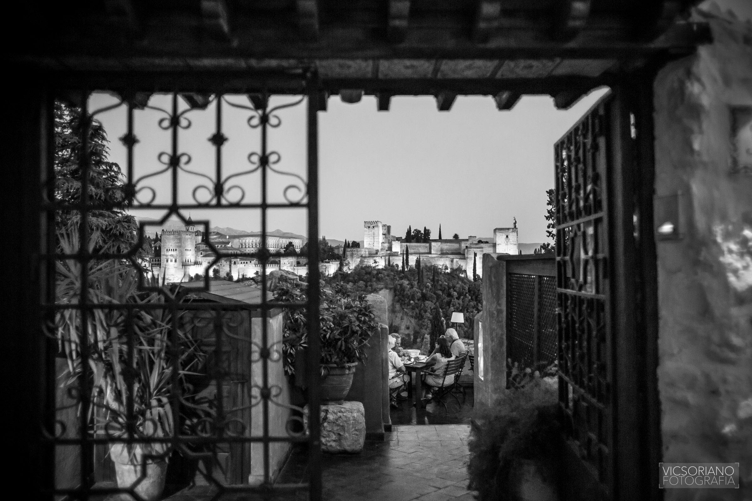 vistas a la alhambra