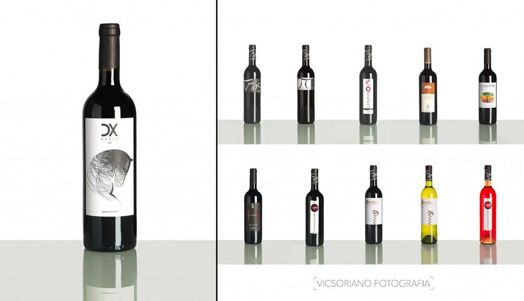 foto producto botella vino ecommerce