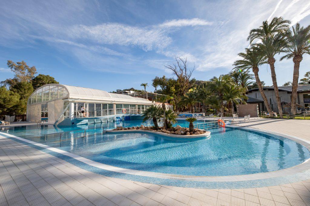 piscina exterior balneario de archena