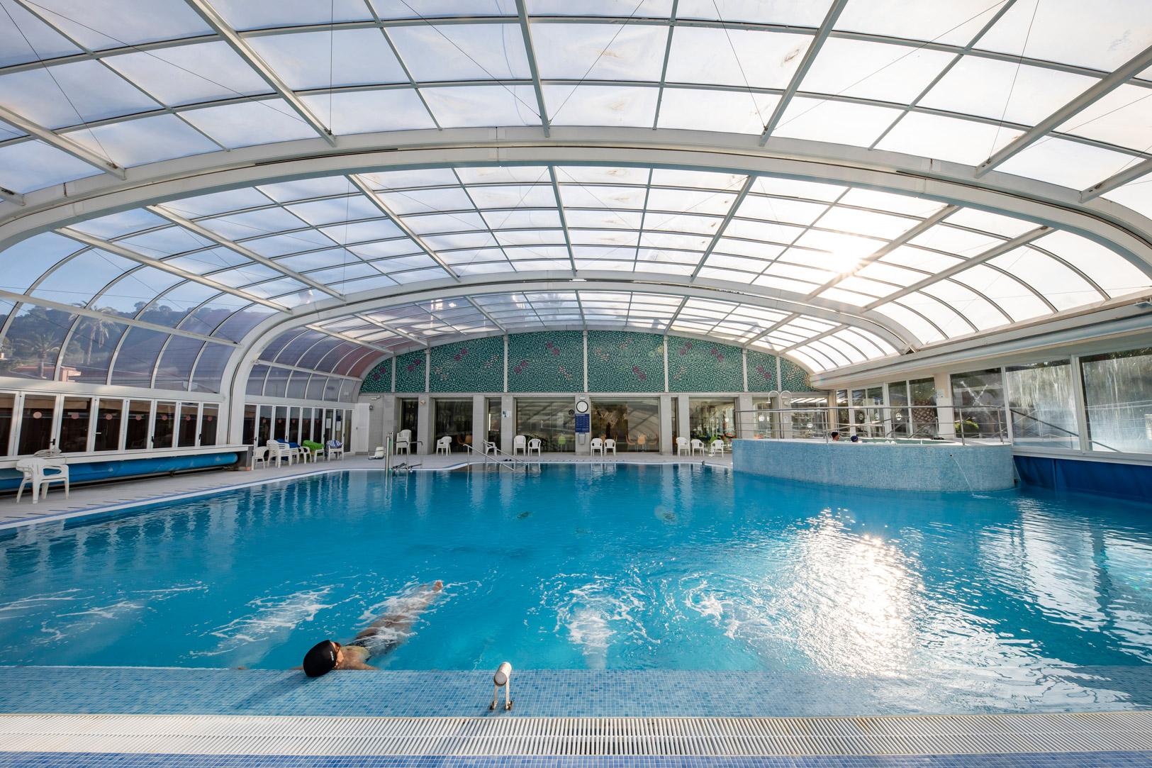 reportaje fotografico instalaciones balneario de Archena