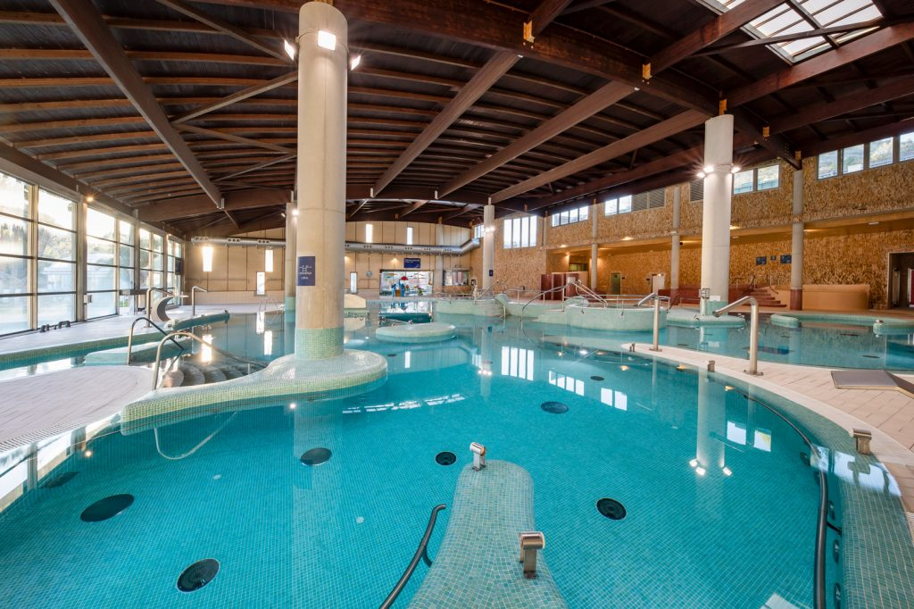 piscina interior balneario de archena
