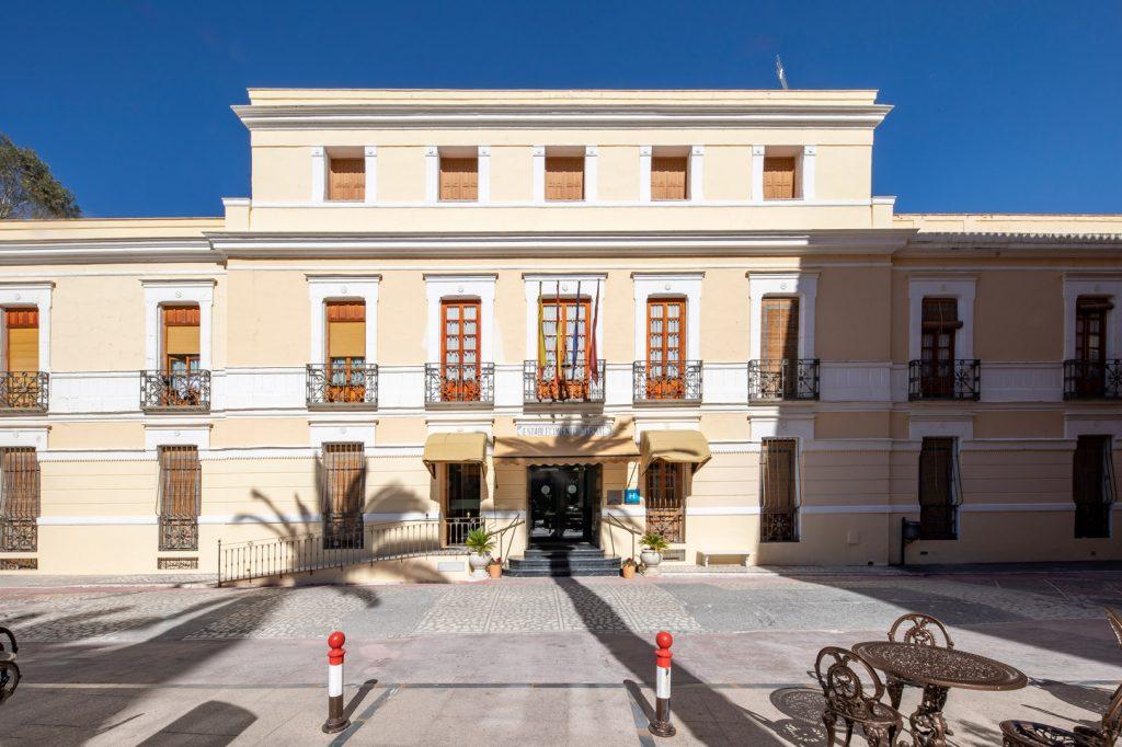fachada hotel balneario de archena
