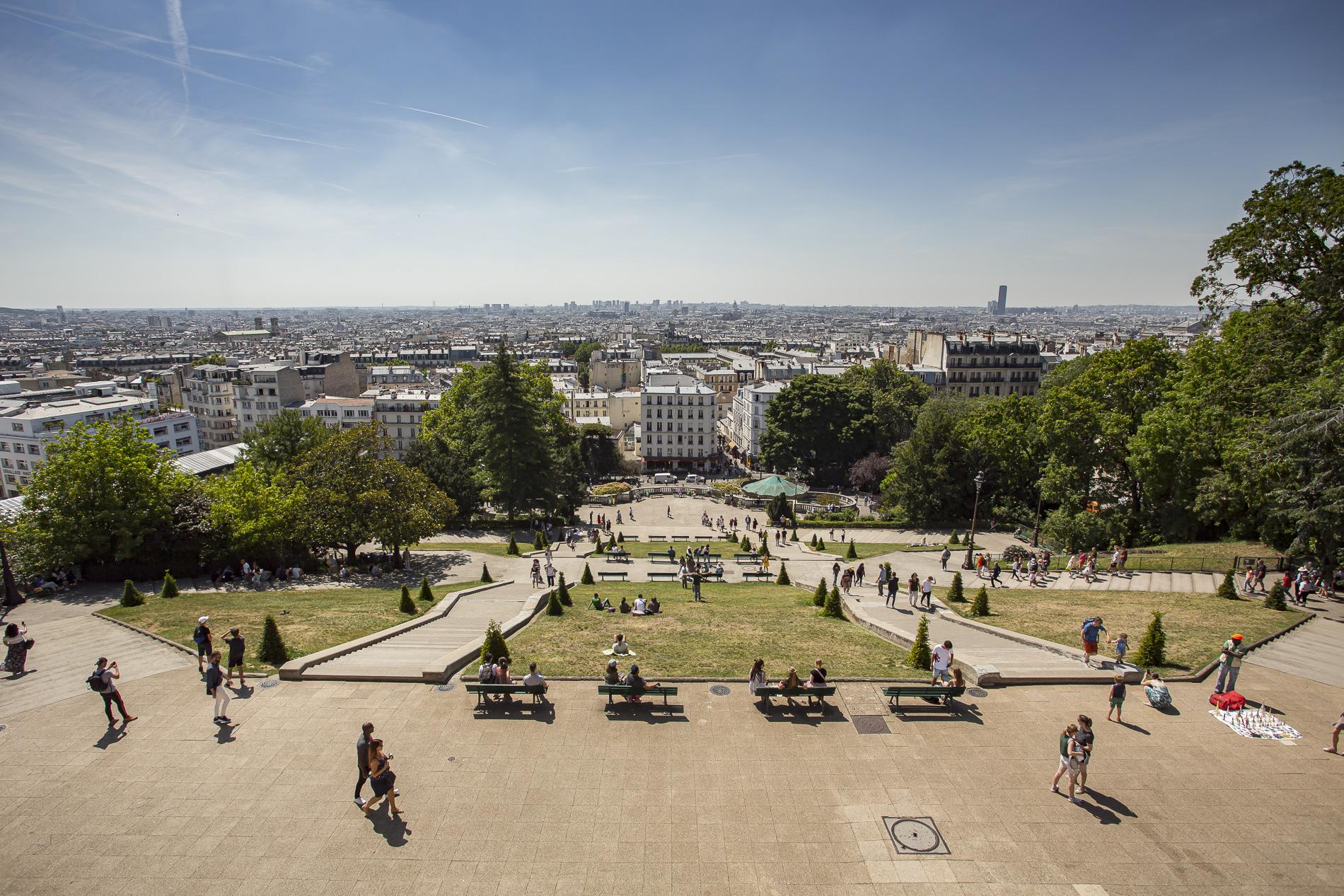 Vistas de París desde Sacré-Coeur