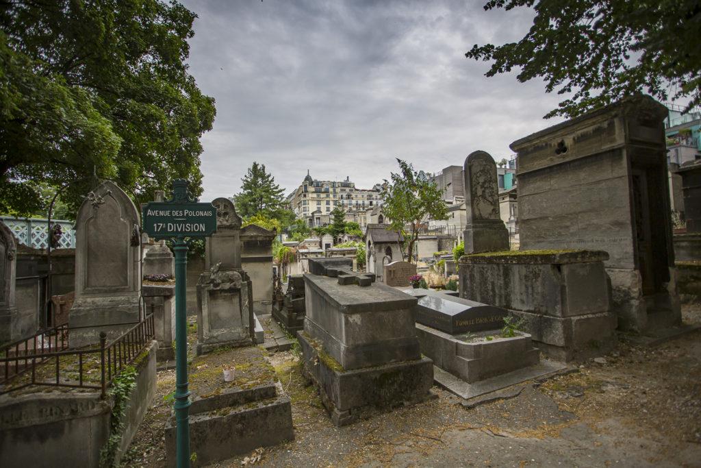 cementerio de Montmartre-París
