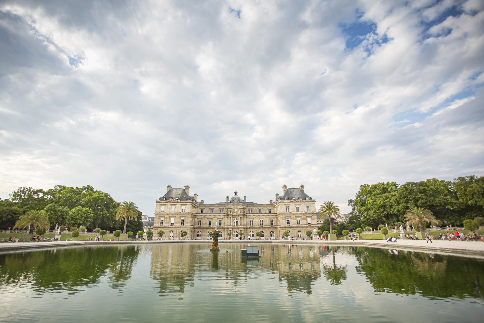 Estanque del Palacio de Luxemburgo
