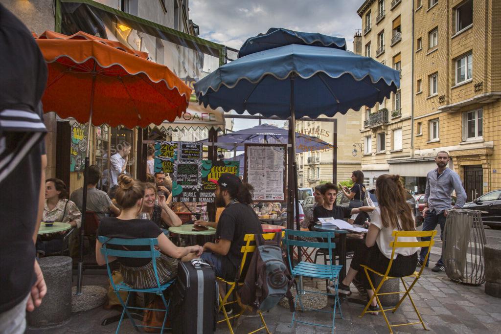 Terrazas en El Barrio Latino - París
