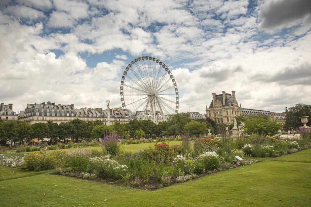 jardín de las Tullerías-París