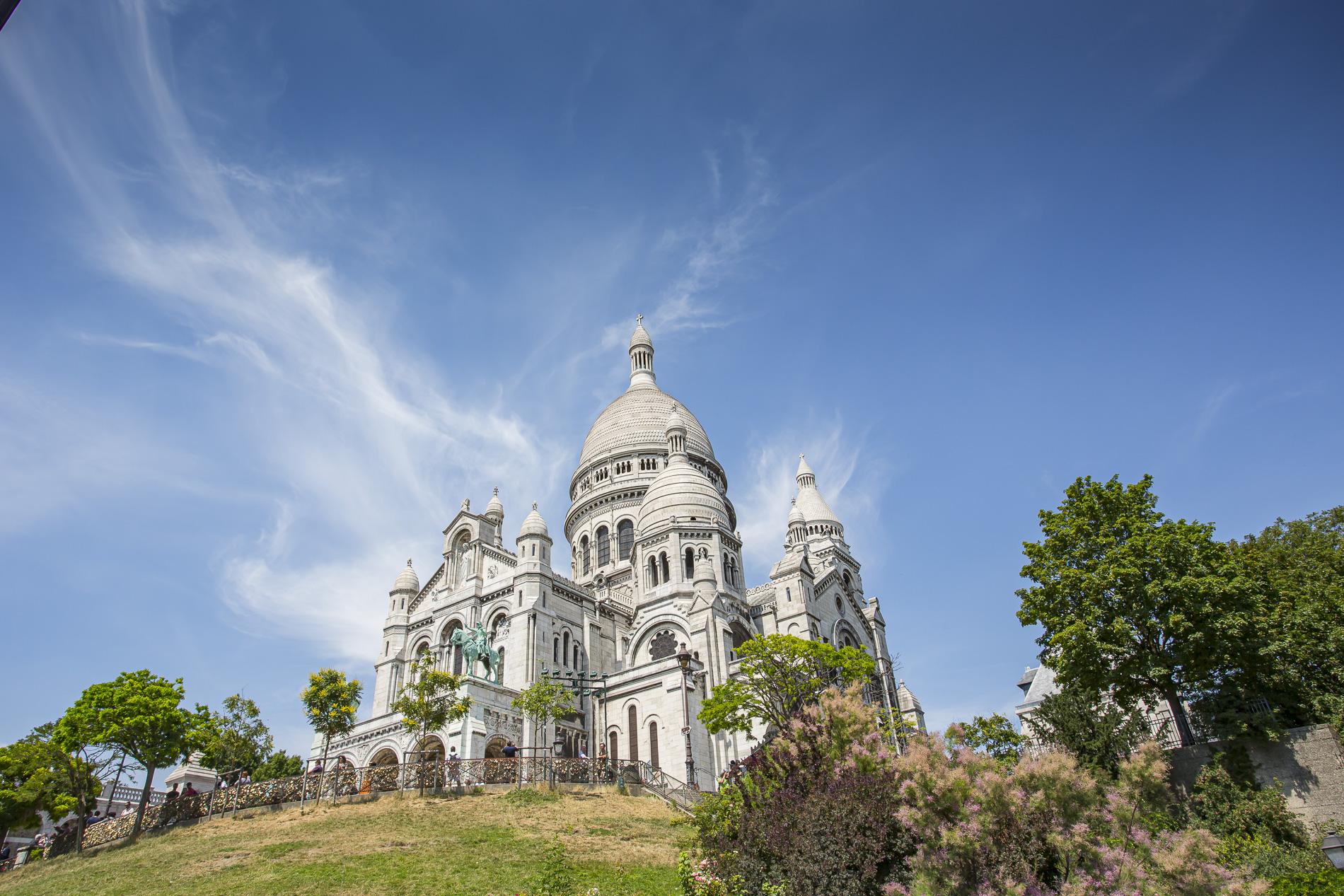 Basílica del Sagrado Corazón - París